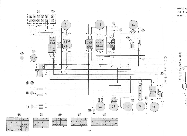 Großzügig Yamaha Banshee Schaltplan Galerie - Elektrische Schaltplan ...